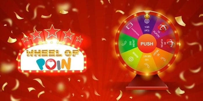 Wheel of POIN Telkomsel Header
