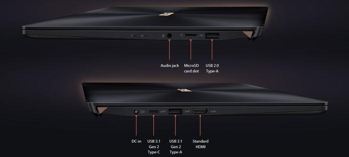 ASUS Zenbook Pro 14 UX480 Port
