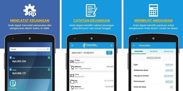 Aplikasi Keuangan Android - Finansialku