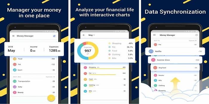 Aplikasi Keuangan Android - Money Manager