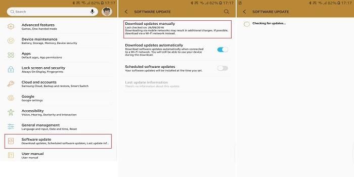 Cara Mengatasi PUBG Mobile Tidak Support - Update Software