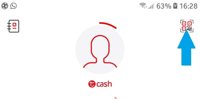 Cara Menggunakan TCASH Telkomsel Snap QR