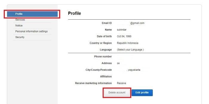 Cara Menghapus Samsung Account - Permanen
