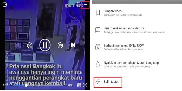 Cara Mengirim Video dari Facebook Ke WhatsApp