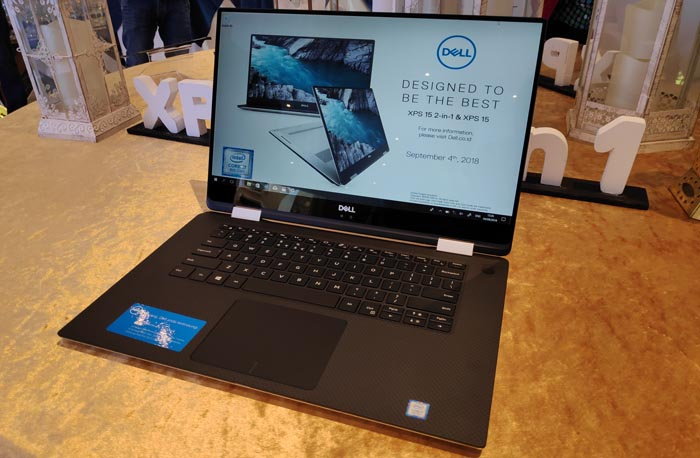 Dell XPS 15 2 in 1 Front