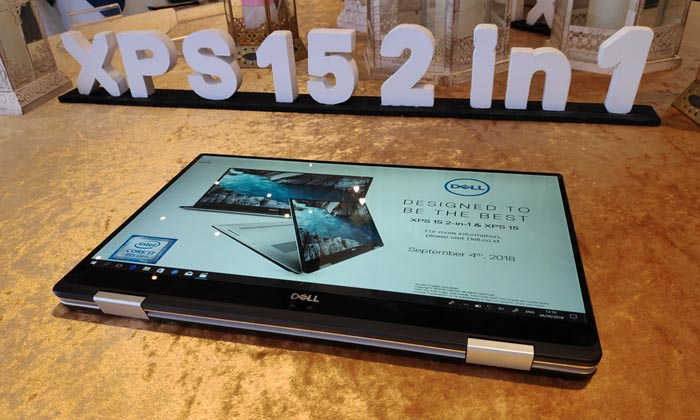 Dell XPS 15 2 in 1 Header