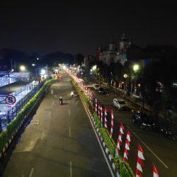 Foto Malam Stasiun Bogor