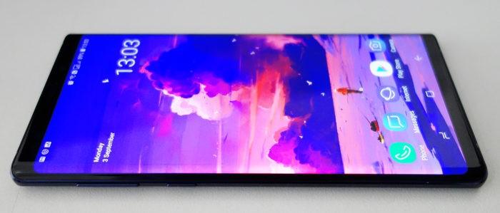 Galaxy Note 9 - Layar