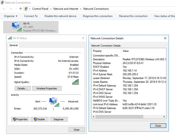 MAC Address Network Adapter