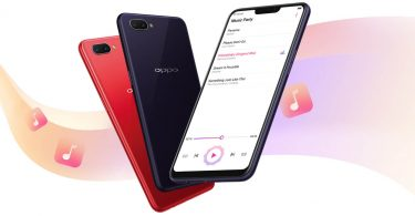 OPPO A3s Feature Tiga