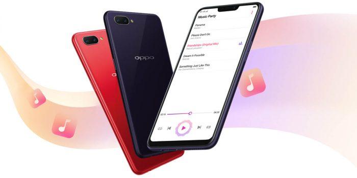 OPPO A3s Feature Tiga