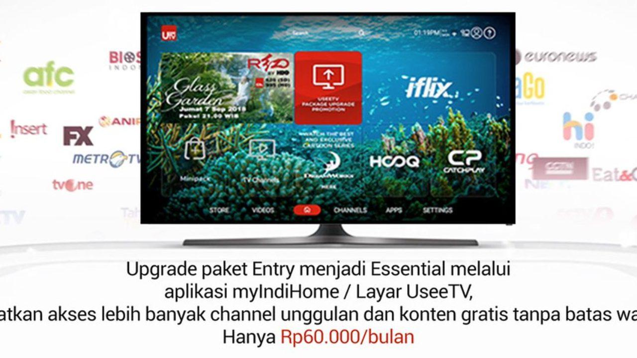 Paket Essential Indihome Tawarkan 142 Saluran TV Digital