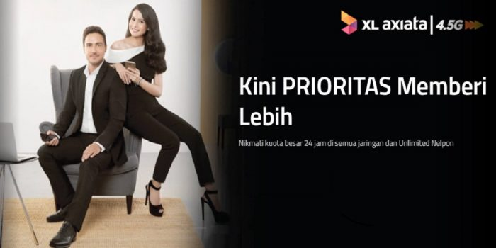Paket XL Prioritas - Header