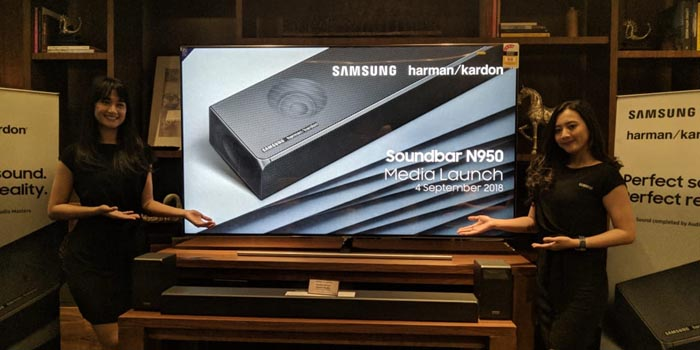Samsung Soundbar N950 Header