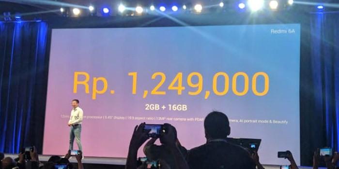 Xiaomi Redmi 6A Price