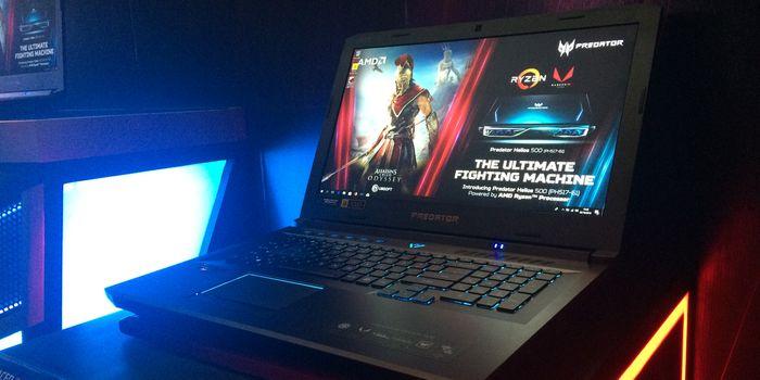 Acer Predator Helios 500 Header