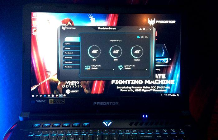 Acer Predator Helios 500 Sense