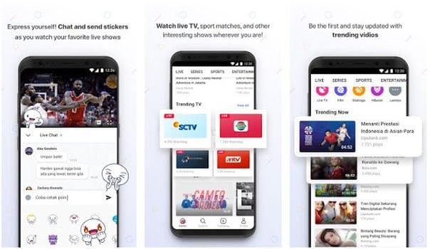 Cara Nonton TV di Android Secara Gratis Dengan Saluran Lengkap