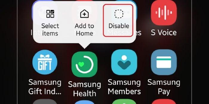 Cara Hapus Aplikasi Bawaan Samsung 1