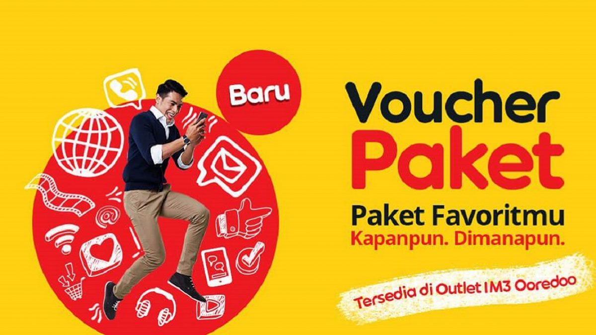Cara Memasukkan Voucher Indosat Header