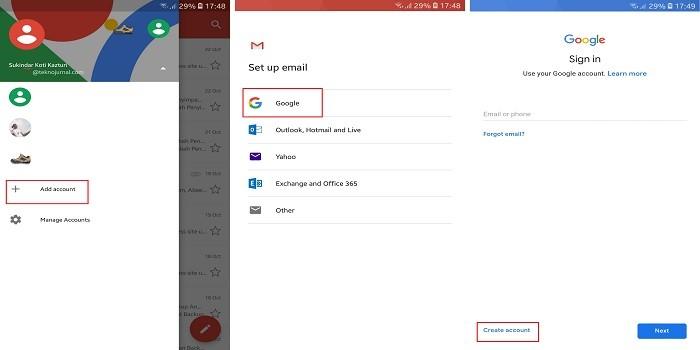 Cara Membuat E Mail Di Layanan Gmail Melalui Hp Buat Kamu Yang Tidak Ingin Ribet Gadgetren