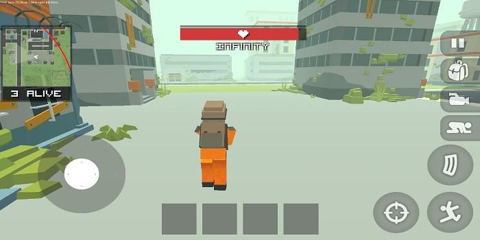 Game Mirip Free Fire Offline - Stickman Battleground Craft
