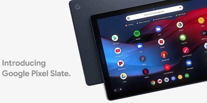 Google Pixel Slate Header
