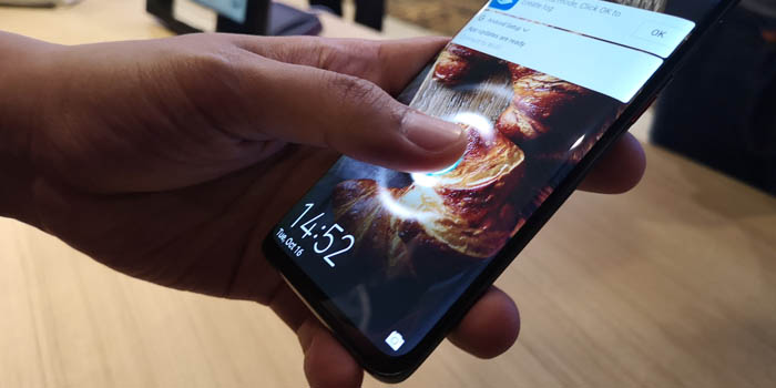 Huawei Mate 20 Pro Fingerprint
