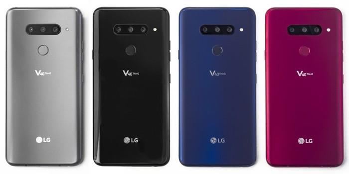 LG V40 ThinQ Back
