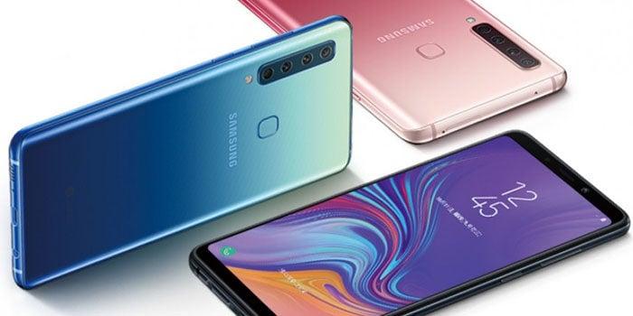 Samsung Galaxy A9s Header