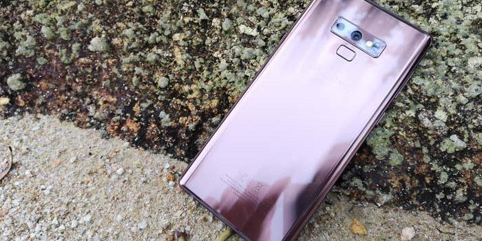 Samsung Galaxy Note 9 Header Pasir