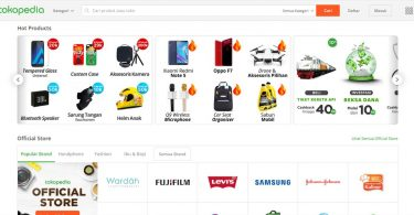 Situs Tokopedia Featured