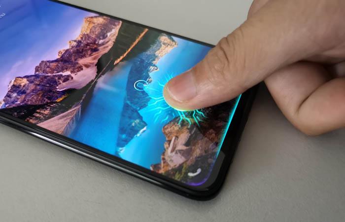 Samsung Galaxy A7 VS Vivo V11 Pro Fingerprint Screen