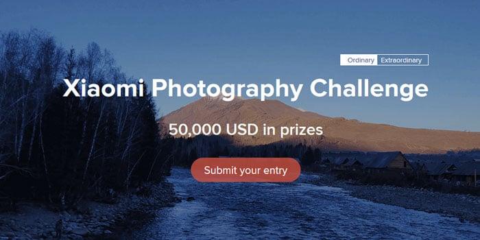 Xiaomi Photography Challenge Header