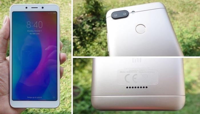 Xiaomi Redmi 6 Desain