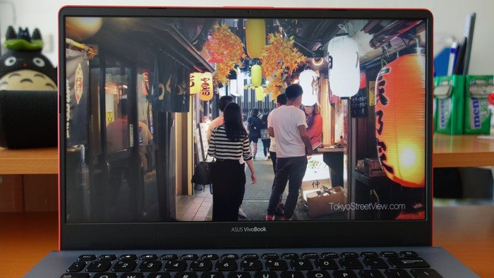 ASUS VivoBook S14 S430UN Layar