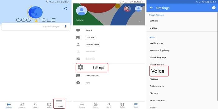 Cara Menggunakan OK Google - Voice Match