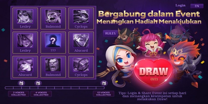 Event Thanksgiving Mobile Legends