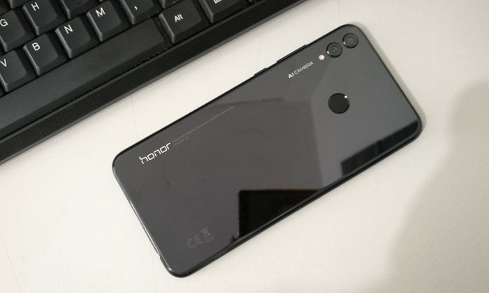 Honor 8X Back Review Key