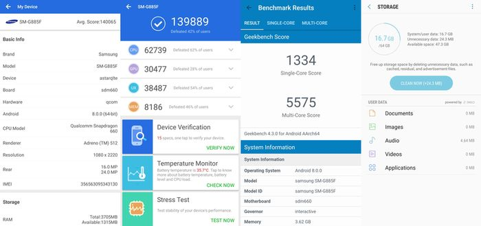 Samsung Galaxy A8 Star Benchmark Spec