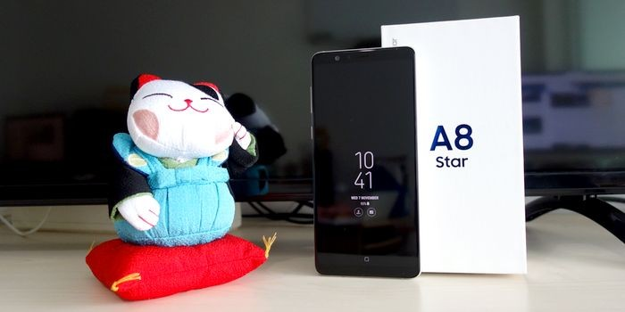 Samsung Galaxy A8 Star Header