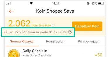 Shopee Koin Gratis Featured