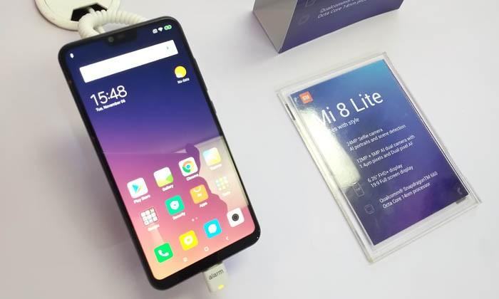 Xiaomi Mi 8 Lite Teks