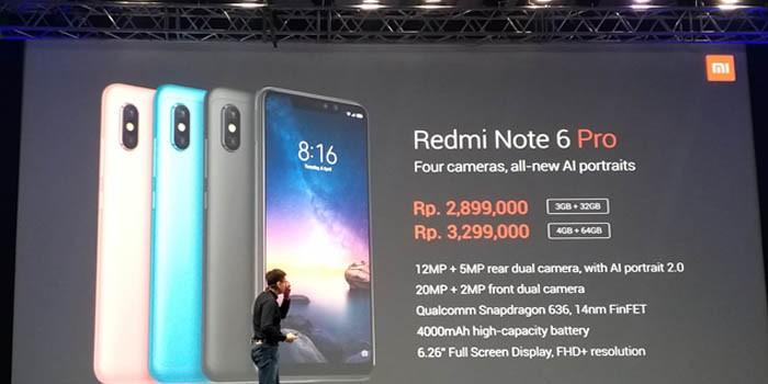 Xiaomi Redmi Note 6 Pro Harga