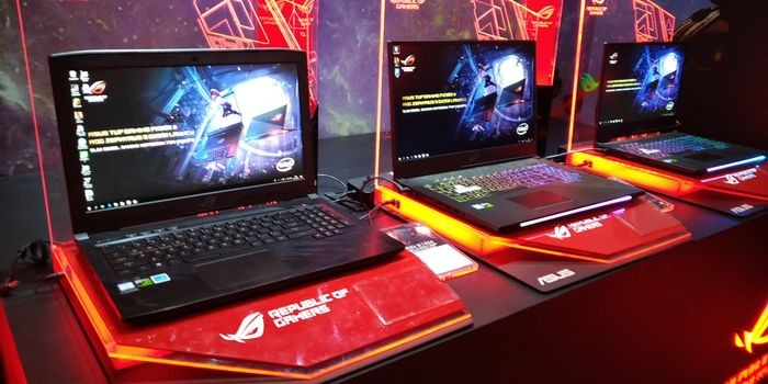 ASUS Rilis 6 Produk Gaming Header