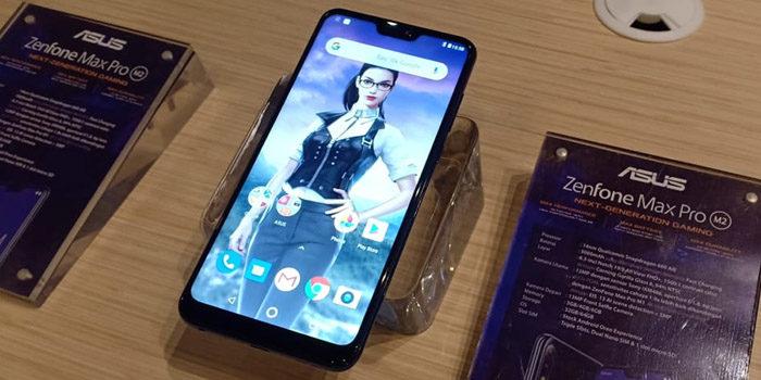 Tampilan ASUS Zenfone Max Pro M2