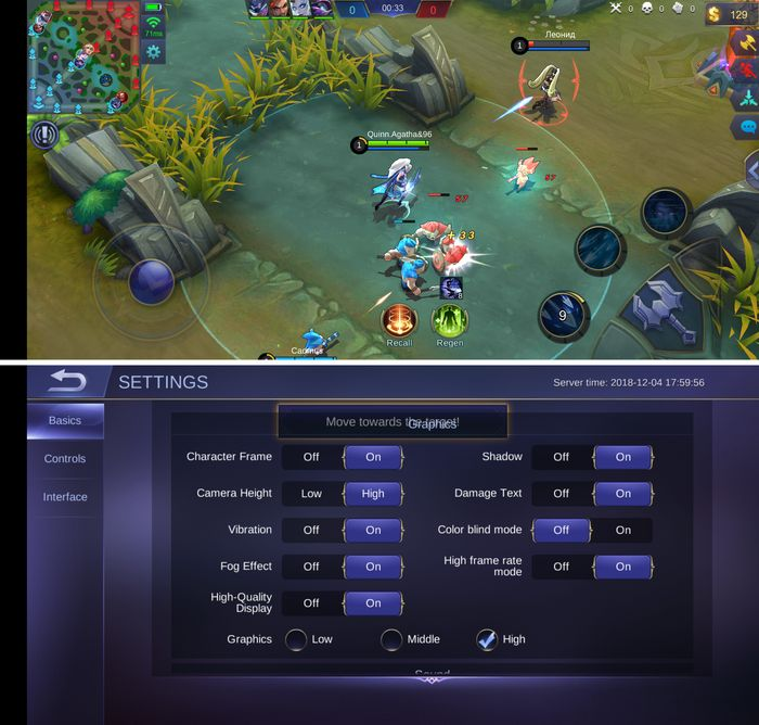 ASUS Zenfone Max Pro M2 Mobile Legends