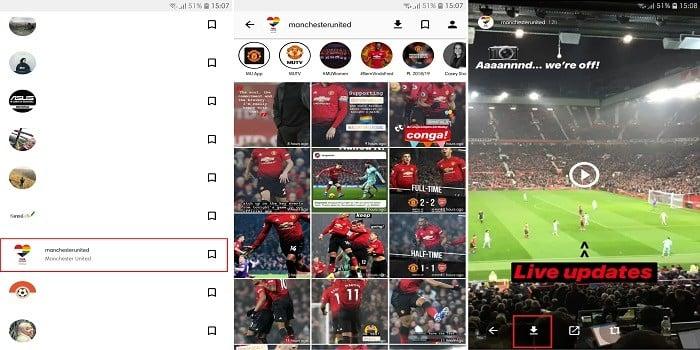 Cara Download Video Instastory
