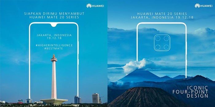 Huawei Mate 20 Poster Indonesia
