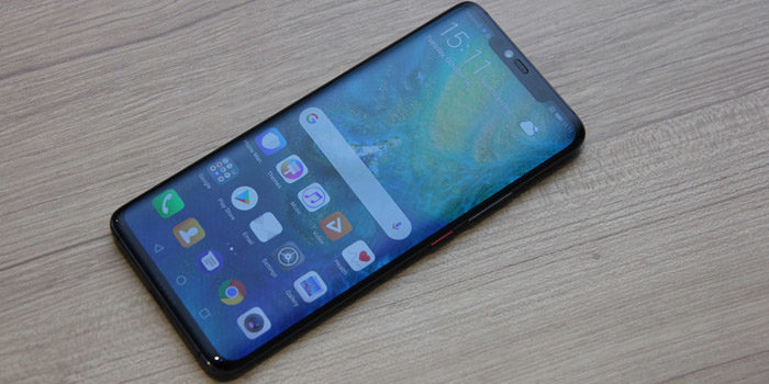 Huawei Mate 20 Pro Header Layar